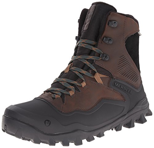 Amazon.com | Merrell Men's Fraxion Shell 8 Winter Hiking Boot ...