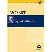 Symphony No. 40 in G Minor KV 550: Eulenburg Audio+Score Series