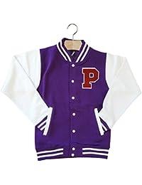 Purple Baseball Jacket - Pl Jackets