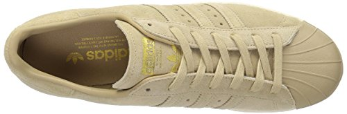 Adidas Superstar 80 Herren Schuhe BB2227 khaki / gold Sneakers Beige