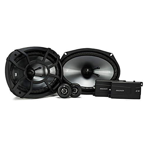 Kicker 43CSS694 CSS69 6x9-Inch Component System with .75-Inch tweeters,...