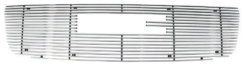 1 Piece Billet Grille - Paramount Restyling 33-0108 Overlay Billet Grille with 4 mm Horizontal Bars, 1 Piece