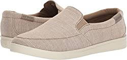 Crocs Women's Citilane Low Slipon W Sneaker, Khaki, 7 M Us