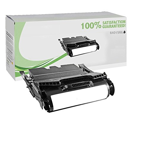 Lexmark T640 T642 64015HA Hi-Yield (21K) Black Return Program Toner SDS Platinum Series (Program Toner Yield Hi)
