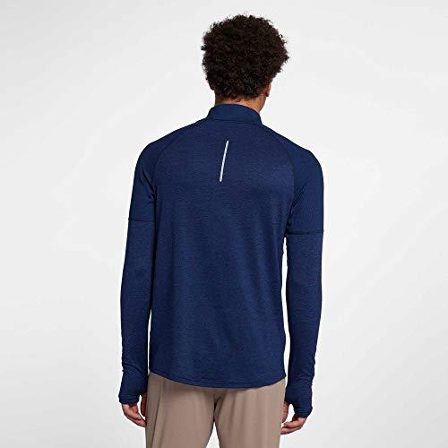 Manches T Obsidian Elmnt M shirt Longues 2 À Void T htr Top Homme Nike 0 Nk blue Hz 18q6wwREP