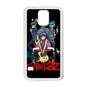Happy Gorillaz Guitar prince Cell Phone Case for Samsung Galaxy S5