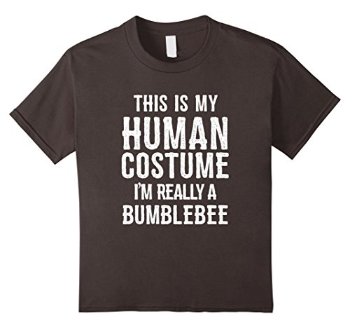 Kids Funny Bumblebee Costume Halloween Shirt for Men Women Kids 6 (Bumble Bee Halloween Costume Teenager)