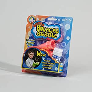Bouncing bubbles with gloves
