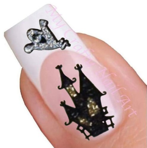 Halloween Adhesive Nail Stickers Art (Halloween Nail Stickers Uk)
