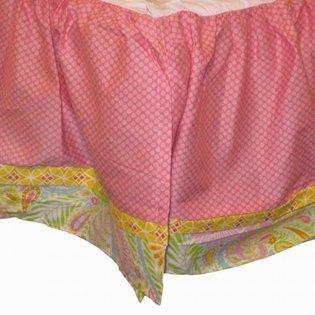 Kidsline Dena Happi Tree Dust Ruffle Crib Bed Skirt