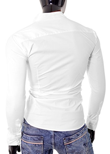 D&R Fashion - Chemise casual - Homme -  Blanc - XXX-Large