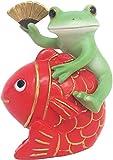 ダイカイ(DAIKAI) 置物 めで鯛カエル 3.9×3.2×4.9cm コポー Copeau 72478