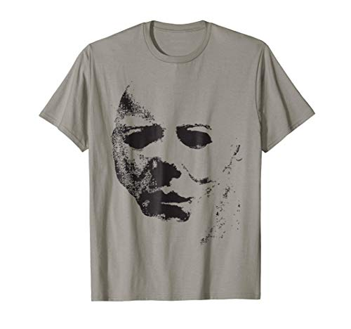 Halloween Movie Face Mask Costume Shirt ()