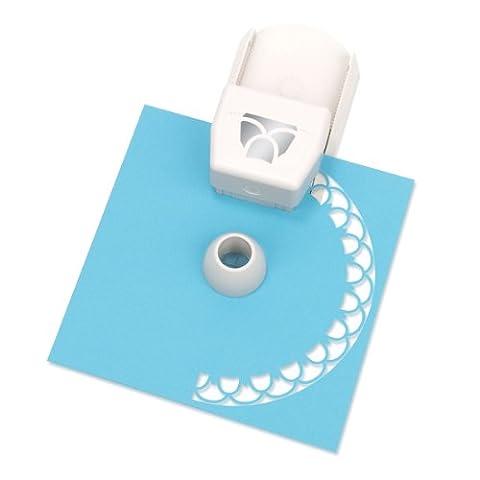 Martha Stewart Crafts Circle Edge Paper Punch, Layered Flower (Martha Stewart Round Corner)