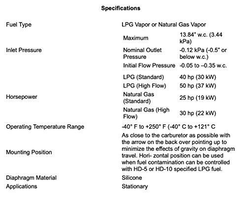 GARRETSON IMPCO Style KN Low Pressure Regulator 039-122 Converter ...