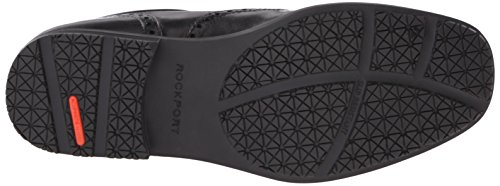 Rockport Mens Détails Essentiels Imperméable Noir Wingtip Oxford Chaussures
