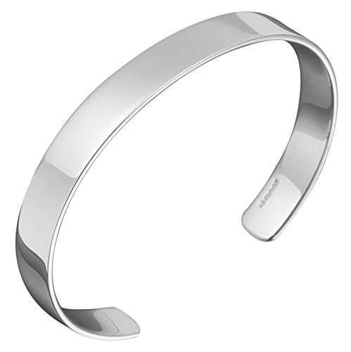 7c795c380b657 Image Unavailable. Image not available for. Color  Mens Classic Silver Cuff  Bracelet