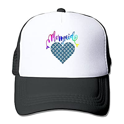 Arsmt Mermaid At Heart 1 Mesh Women Snapback Trucker Baseball Hat