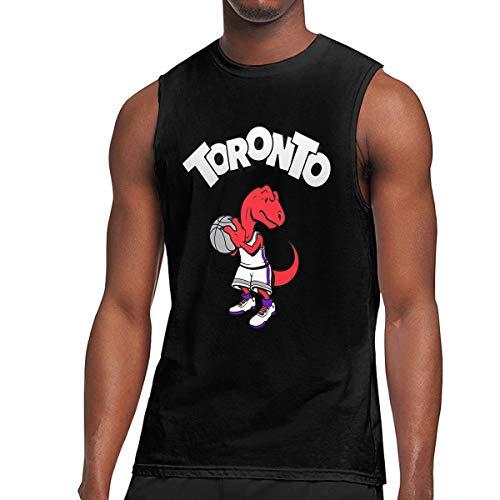 (Celinion King of Toronto Kawhi Cotton Sleeveless T Shirt for Men (XL))
