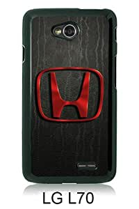Lovely And Unique Designed Case For LG L70 With Honda logo Black Phone Case