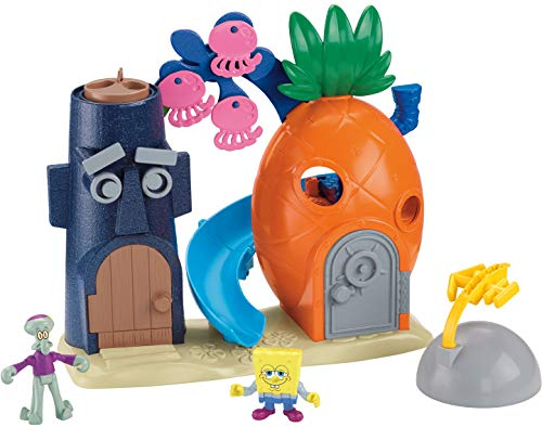 Spongebob Bikini Bottom - Fisher-Price Imaginext Nickelodeon SpongeBob SquarePants Bikini Bottom Playset