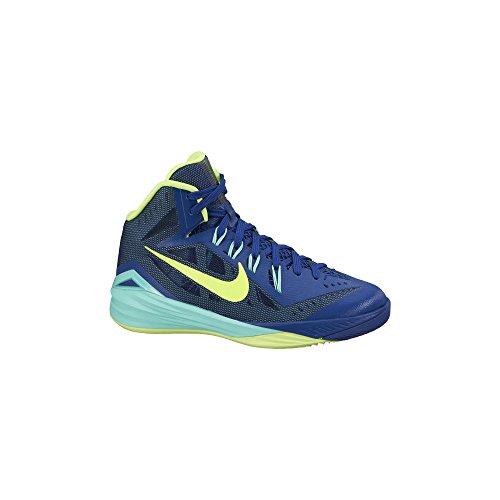 Boy's Nike Hyperdunk 2014 Basketball Shoe Blue/Volt/Turquois