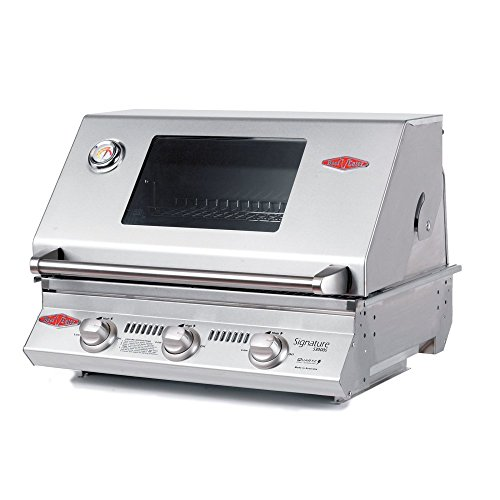 BeefEater 12830 Signature Series Stainless Steel 3 Burner Built-in BBQ ()