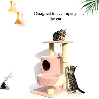 Árbol de gato Marco De Gato Moda Gato Grande De Gato Dormitorio Gato Creativo, 4 Capas (Size : 50 * 40 * 75cm): Amazon.es: Hogar