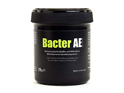 Glasgarten Bacter Ae Shrimp Tank Treatment (70G) | Nutrients For Live Freshwater Shrimp Food / Aquarium Water (Neocaridina, Amano, Red Cherry, Rili)