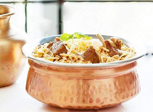 Bol de fuente de acero inoxidable de cobre de 700 ml utilizados como tazón de cereal, cuenco de arroz, cuenco de fideos, tazón de helado, conjunto de 4, ...
