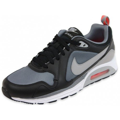 Nike Air Max Trax Cool Grey   Silver   Black Running Shoe Size 10