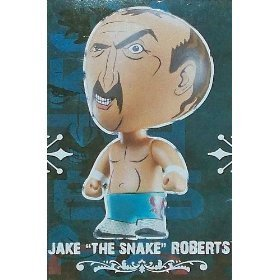 WWE Vinyl Aggression 3 inch Jake the Snake Roberts