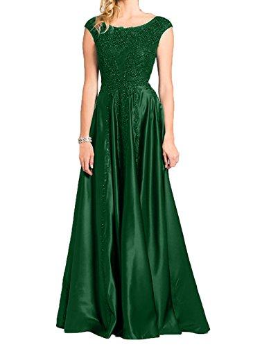 Spitze 2018 Partykleider Abendkleider Elegant Promkleider Brautmutter mit Gruen Neu Ballkleider Charmant Damen Dunkel vx5wOnpqcg