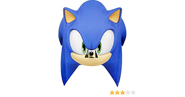 Amazon Com Sonic The Hedgehog Paper Mask 8 Pcs Health Personal Care