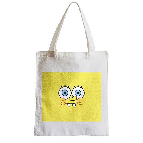 Große Tasche Sack Einkaufsbummel Strand Schüler Sponge Bob Spongebob