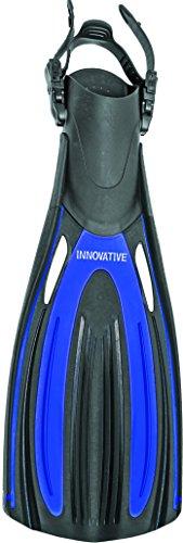 Innovative Scuba Concepts MSF1311 Reef Open Heel Adult Fins For (Open Heel Snorkeling Fins)