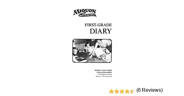 Amazon.com: First-Grade Diary (Miquon Math Lab Materials ...