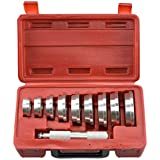 VCT Bearing Race and Seal Bush Driver Set with Carrying Case – Master/Universal Kit for Automotive Wheel Bearings