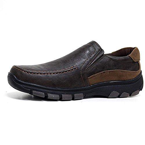 à Chaussures Cuir Chaussures et Large à Mocassins d'homme de Doublé Suede Tan Det Lacets Chaussures Scratch qvSAvX