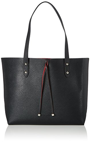 Gerry Weber Berry Cream Shopper Lho, Shoppers y bolsos de hombro Mujer, Schwarz (Black), 12x28x44 cm (B x H T)