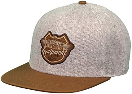 John Deere 6 Panel Cap Twill, Flat Bill-Oxford-Os: Amazon.es: Ropa ...