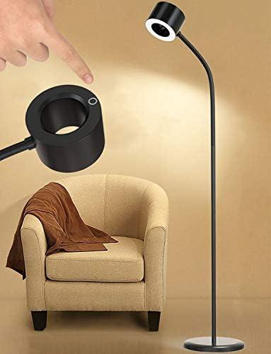 LED Floor Lamp 12W Bright Industrial Standing Reading Floor Lamp