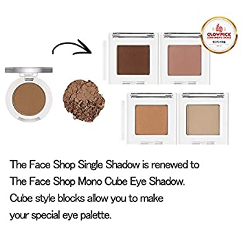 Amazon com: [The Face Shop] Single Shadow Matt 1 8g BR04