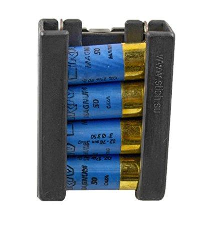 (STICH PROFI® 12-Gauge shotgun cartridges holder/speed loader Tek-Lok belt clip)