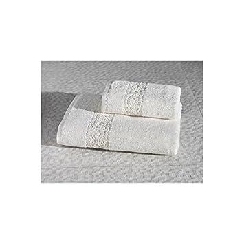 Serra Home Hotel & SPA Crafts Toalla de Baño de Algodón 70 x 140 – Crema