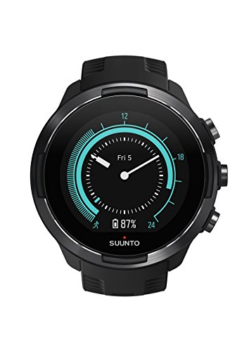 Suunto 9 Multisport GPS Watch with Baro and Wrist Heart Rate (Black)
