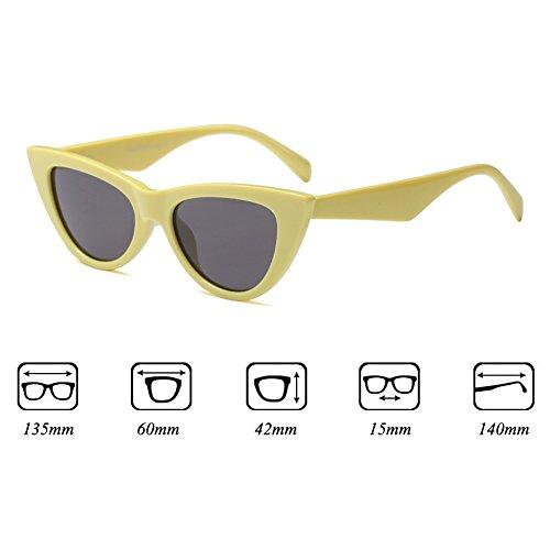 Soleil Petites Unisexe Personnalité Mode Nouvelle Protection Lunettes Lunettes C2 De UV Tendance Cool Yying Chic PTxqw77