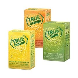 True Lemon Kit Lemon,Orange,Lime 32ct each 7 1 32-ct. True Lemon 1 32-ct. True Lime 1 32-ct. True Orange