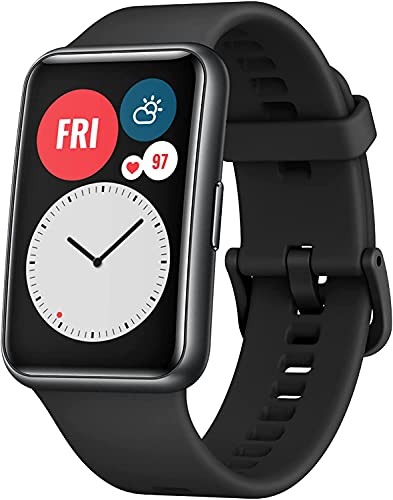 HUAWEI Reloj FIT Bluetooth SmartWatch, pant. AMOLED de 1,64