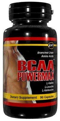 BCAA POWERMAX - 90 Capsules Branched Chain, L-Valine acides aminés L-Leucine Isoleucine